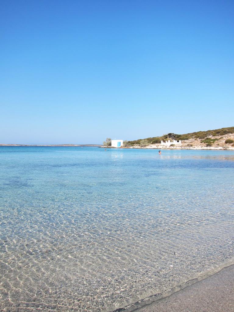 Paros Agia Irini Beach