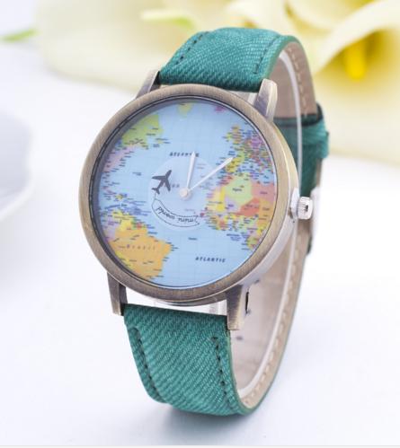 Orologio Mondo (in vari colori)