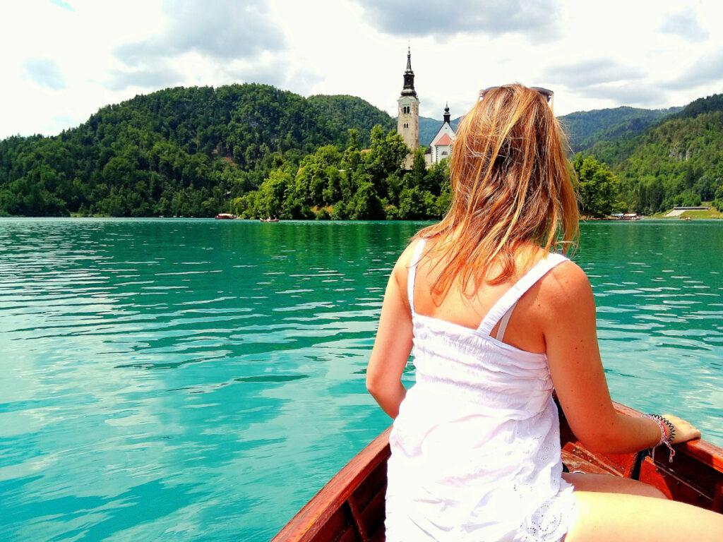 lago di bled giro in barca