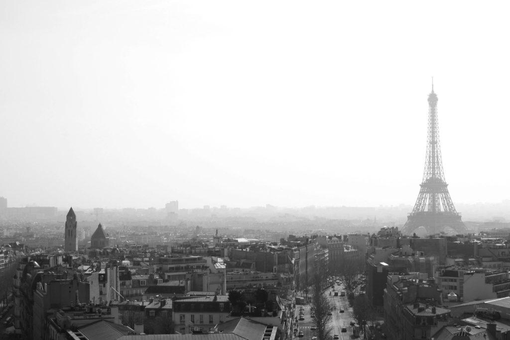 Vista dall'Arc de Triomphe