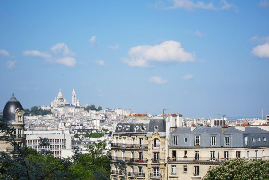 Vista dal Parc des Buttes Chaumont