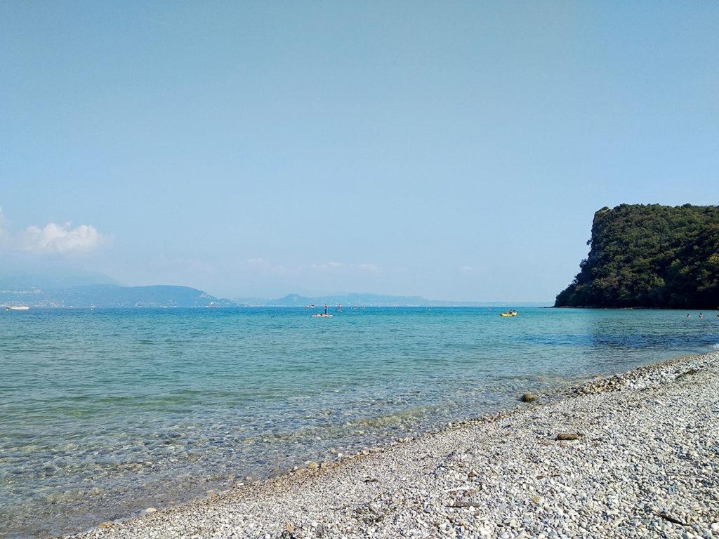 La bellissima spiaggia di Pisenze