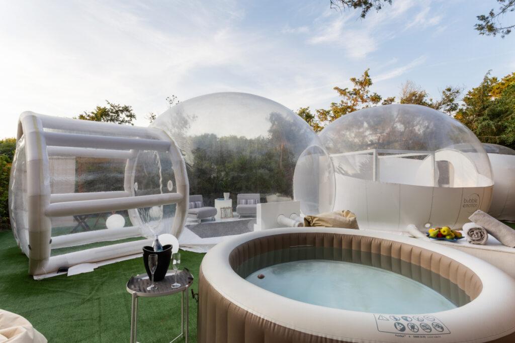 La Bubble Suite di Marina di Bibbona, Toscana.