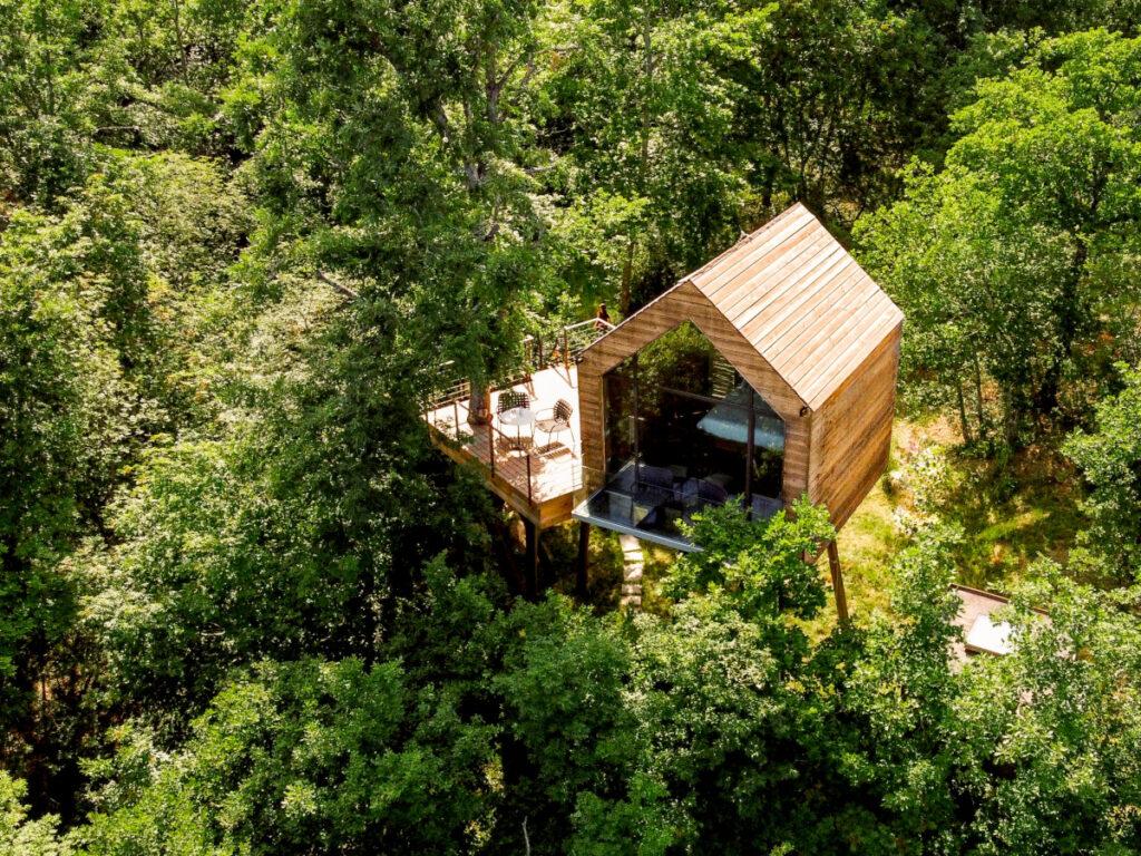 casa sull'albero in toscana