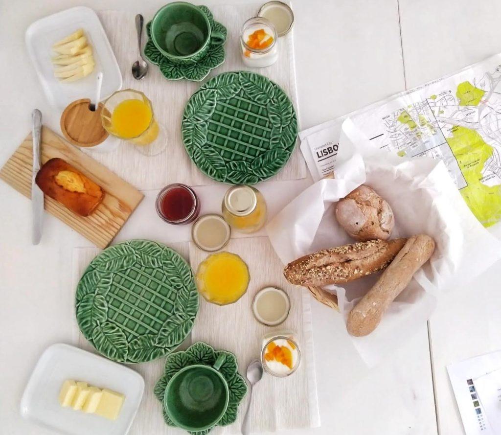 La colazione a Baixa House