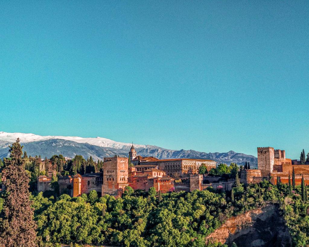 L'Alhambra dal Mirador di San Nicolas