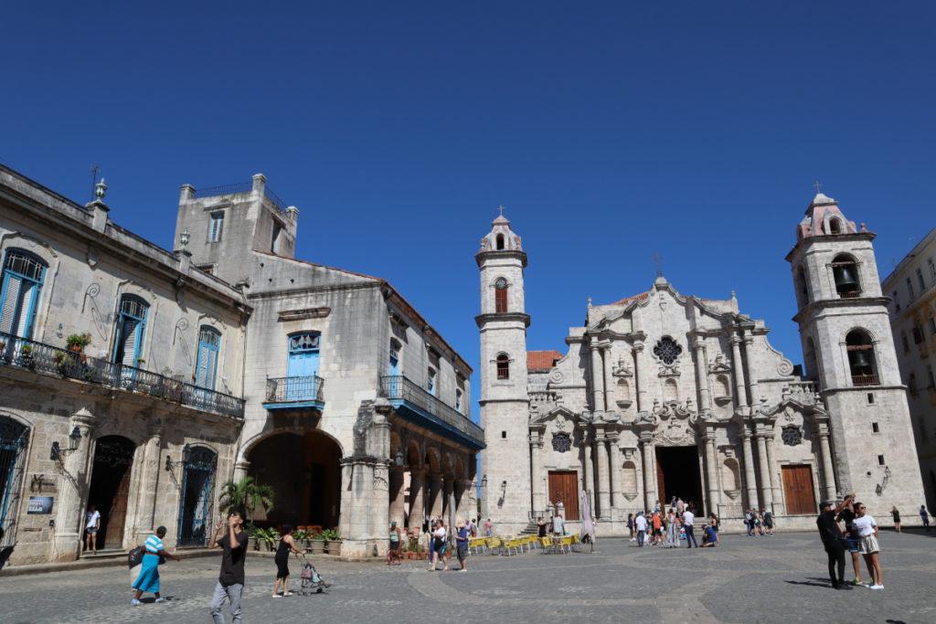 Plaza de la Catedral - La Habana