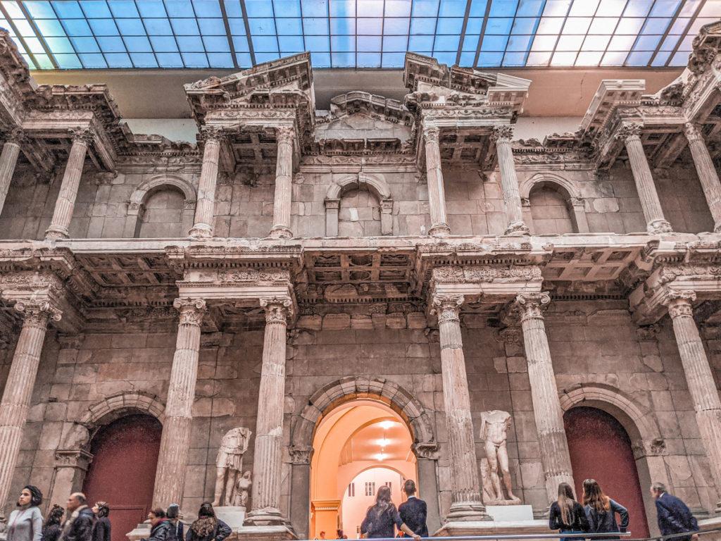 La porta del mercato di Mileto conservata al Pergamonmuseum
