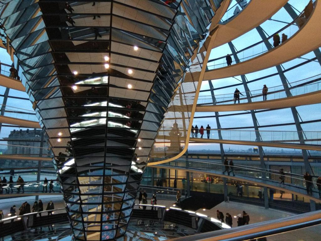 La cupoal del Reichstag