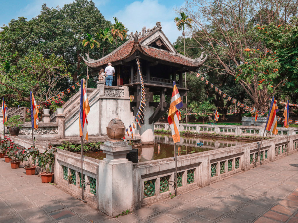La Pagoda ad una colonna