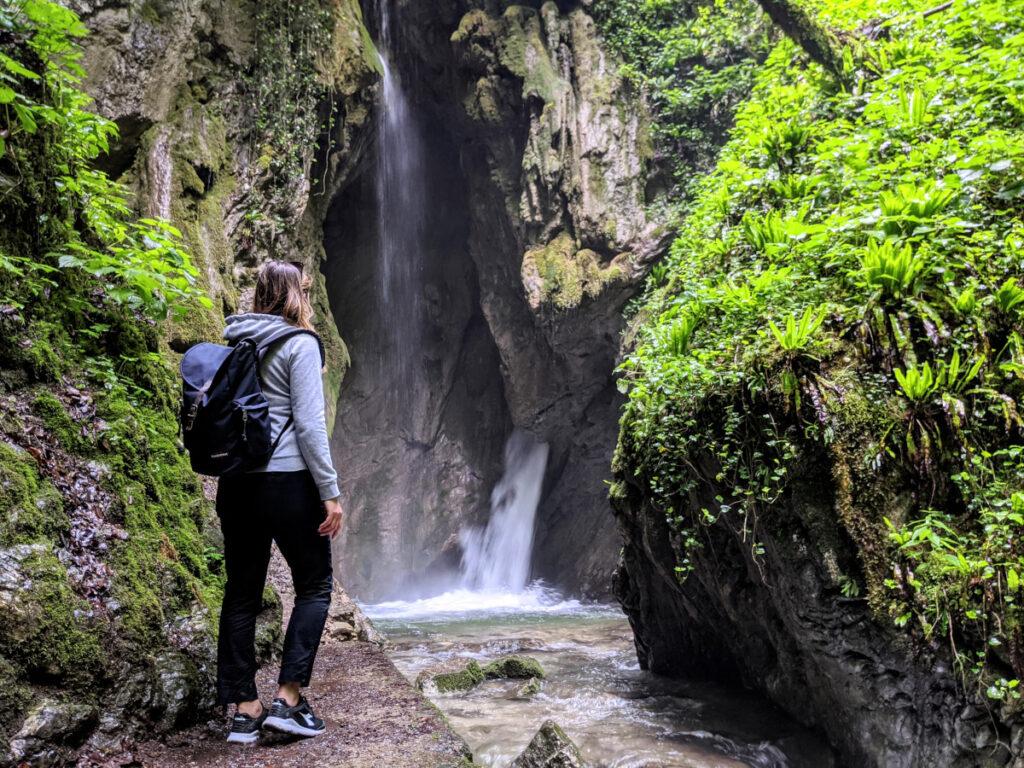 La cascata del Gorg d'Abiss