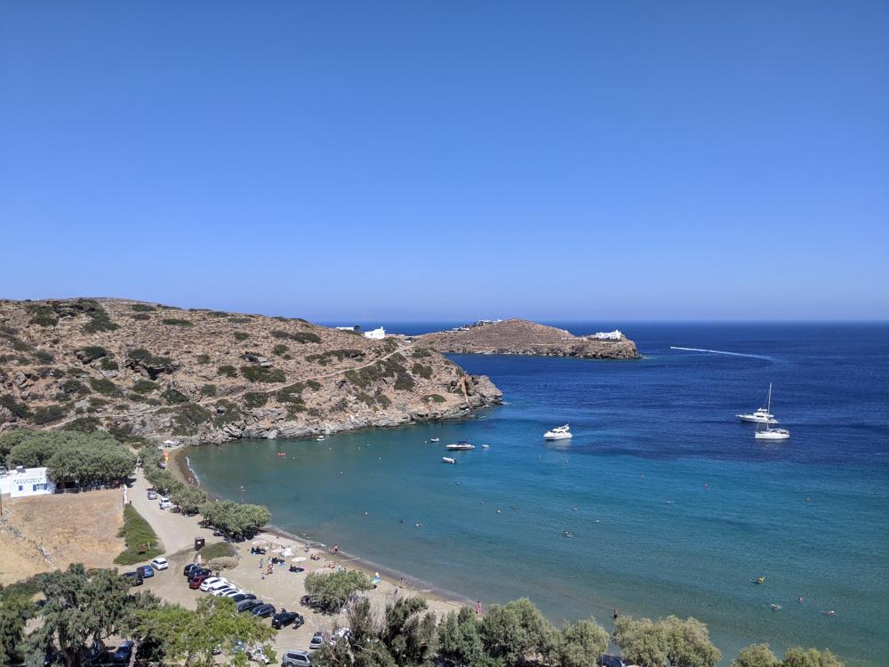 Spiaggia di Apokofto a Sifnos