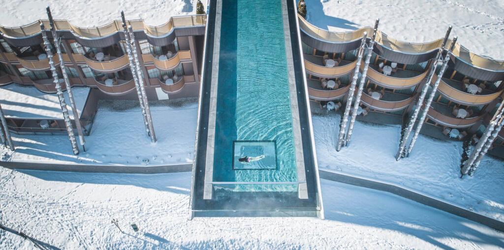 infinity pool hubertus