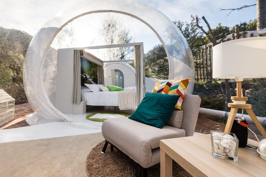 La Bubble Suite Antares, in Liguria.