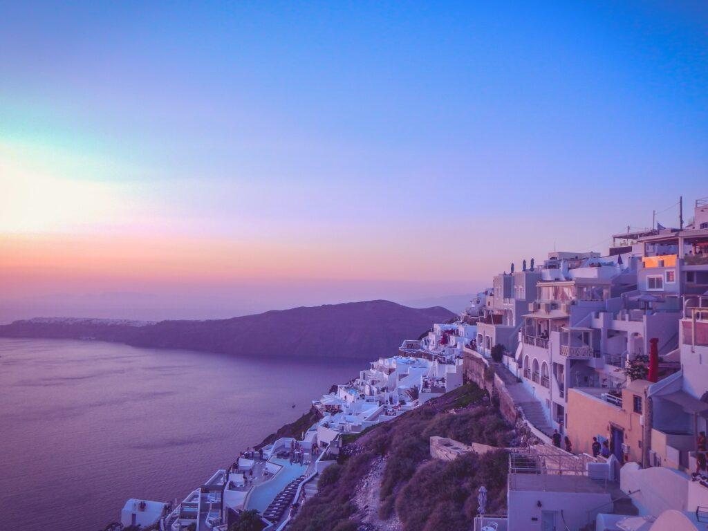 imerovigli santorini dove vedere il tramonto