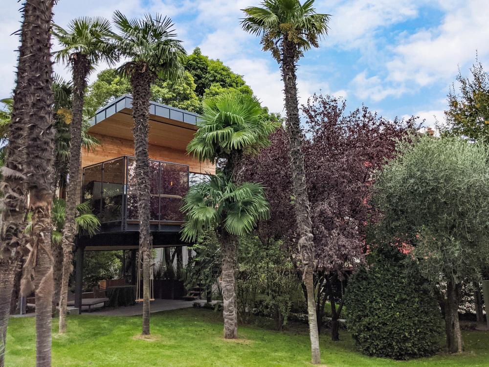 casa sull'albero lago di garda trentino